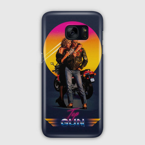 Vintage Movie Top Gun Samsung Galaxy S7 Edge Case
