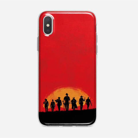 Red Dead Redemption iPhone X Case
