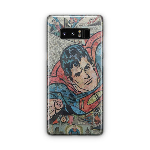 Vintage Superman Comic Samsung Galaxy Note 8 Case
