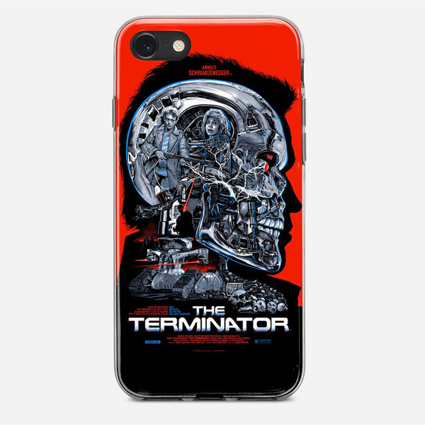 Vintage Terminator Movie Poster iPhone X Case