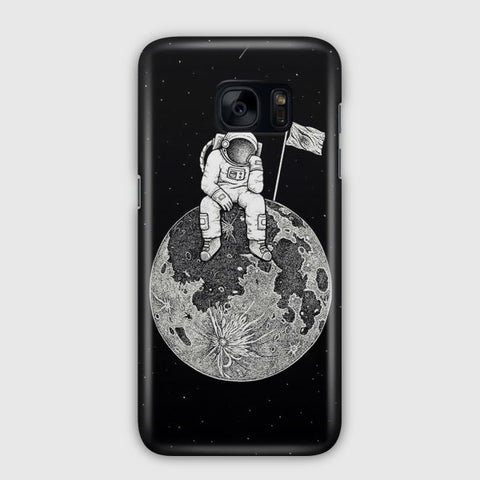 Waiting In The Moon Samsung Galaxy S7 Edge Case
