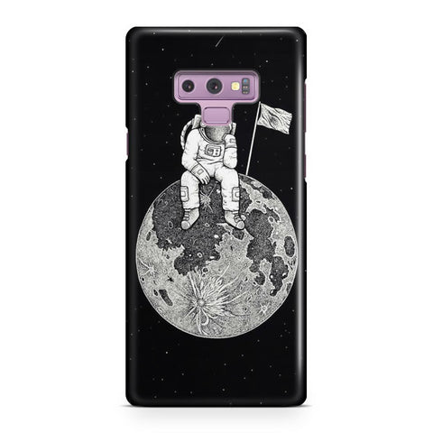 Waiting In The Moon Samsung Galaxy Note 9 Case