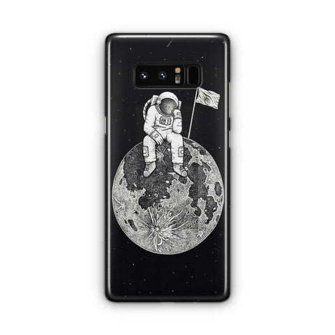 Waiting In The Moon Samsung Galaxy Note 8 Case