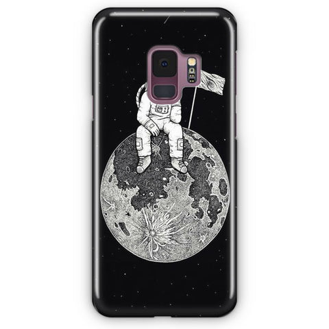 Waiting In The Moon Samsung Galaxy S9 Case
