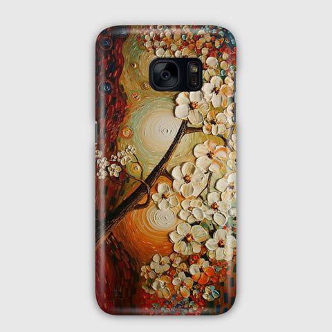 Water And Oil Colors Samsung Galaxy S7 Edge Case
