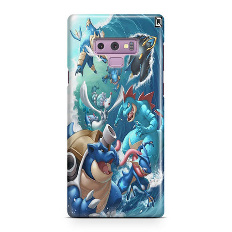 Water Starter Final Evolutions Samsung Galaxy Note 9 Case