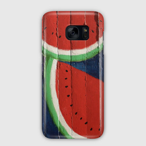 Watermelon Wall Samsung Galaxy S7 Edge Case