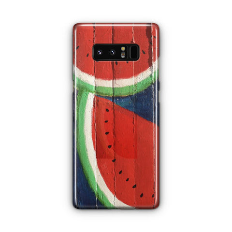 Watermelon Wall Samsung Galaxy Note 8 Case