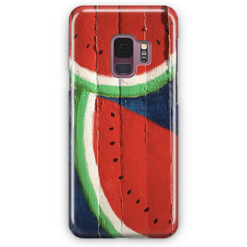 Watermelon Wall Samsung Galaxy S9 Case