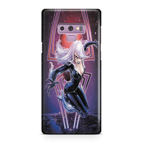 Black Cat Samsung Galaxy Note 9 Case