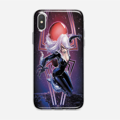 Black Cat iPhone XS Case
