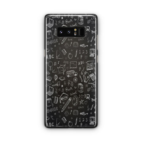 Welcome The Kids Samsung Galaxy Note 8 Case