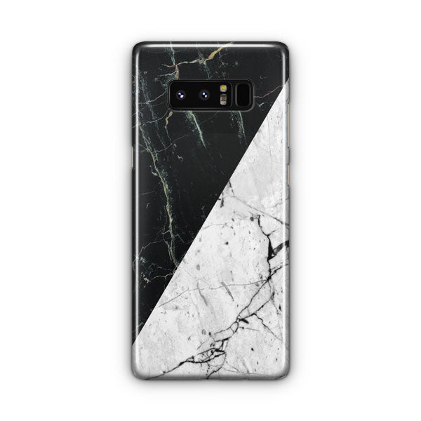 White Black Marble Samsung Galaxy Note 8 Case