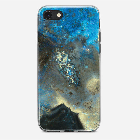Rusty Iron iPhone SE Case
