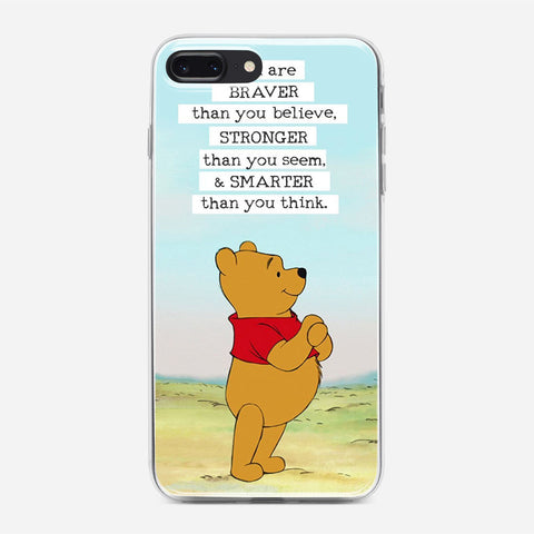 Winnie The Pooh Inspirational iPhone 8 Plus Case