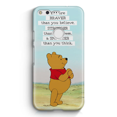 Winnie The Pooh Inspirational Google Pixel Case