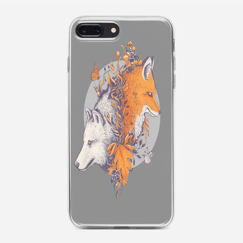 Wolf And Fox iPhone 7 Plus Case