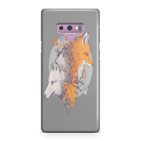 Wolf And Fox Samsung Galaxy Note 9 Case