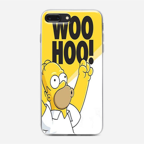 Woo Hoo Simpson iPhone 8 Plus Case
