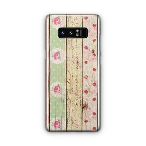 Wood Artwork Samsung Galaxy Note 8 Case