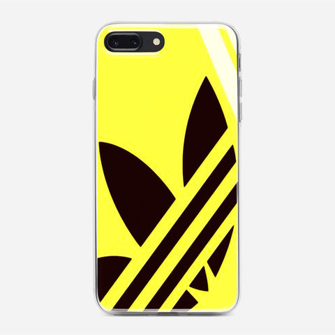 Yellow Adidas iPhone 8 Plus Case