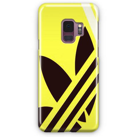 Yellow Adidas Samsung Galaxy S9 Case