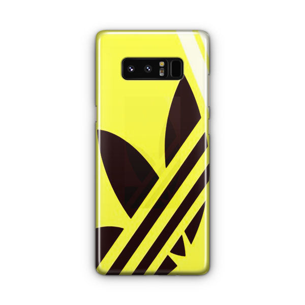 Yellow Adidas Samsung Galaxy Note 8 Case