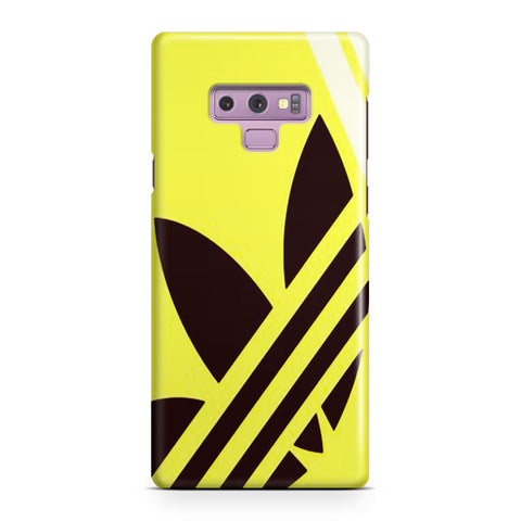 Yellow Adidas Samsung Galaxy Note 9 Case