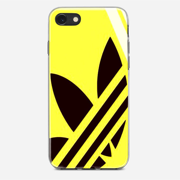 Yellow Adidas iPhone X Case
