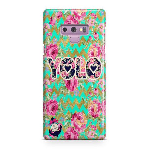 Yolo Love Trible Samsung Galaxy Note 9 Case
