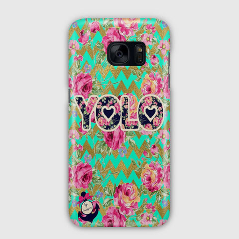 Yolo Love Trible Samsung Galaxy S7 Edge Case
