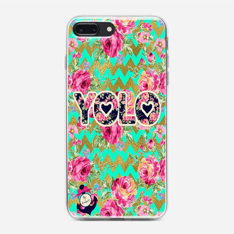 Yolo Love Trible iPhone 8 Plus Case