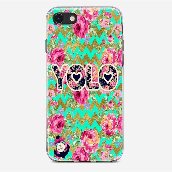 Yolo Love Trible iPhone X Case