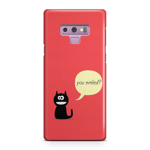 You Smiled Samsung Galaxy Note 9 Case