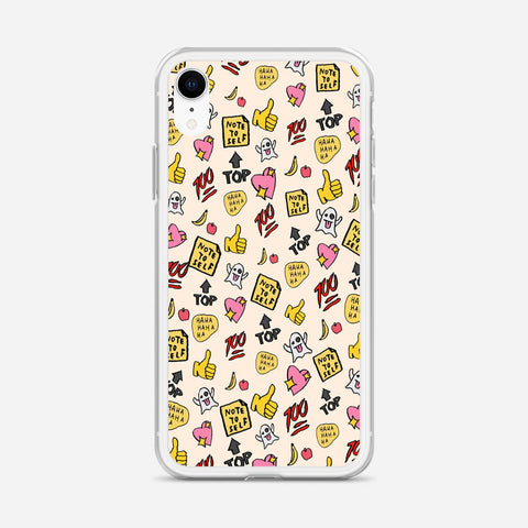 You re So Rad Planner Stickers iPhone XR Case