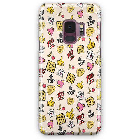 You re So Rad Planner Stickers Samsung Galaxy S9 Case