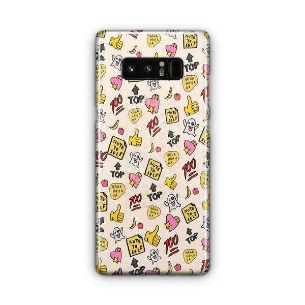 You re So Rad Planner Stickers Samsung Galaxy Note 8 Case