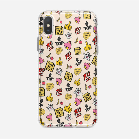 You re So Rad Planner Stickers iPhone XS Case
