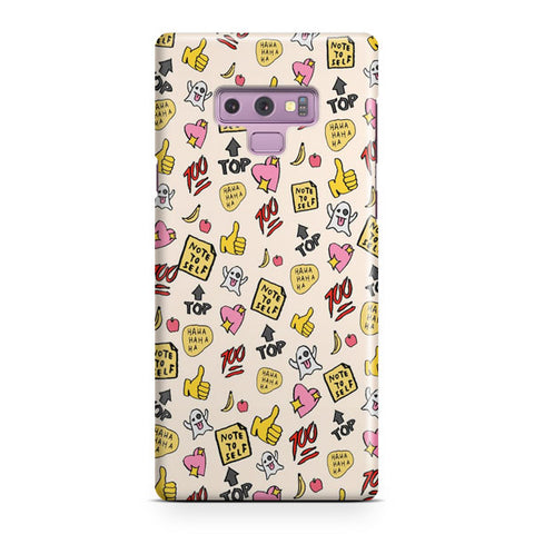 You re So Rad Planner Stickers Samsung Galaxy Note 9 Case