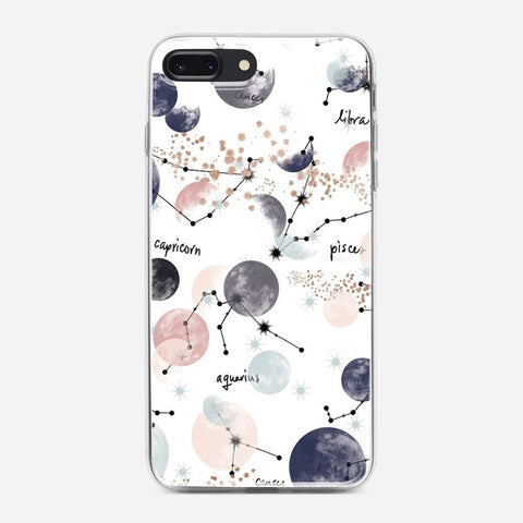 Zodiac Artwork iPhone 8 Plus Case