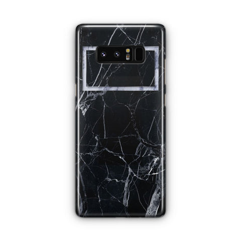 Black Marble Samsung Galaxy Note 8 Case