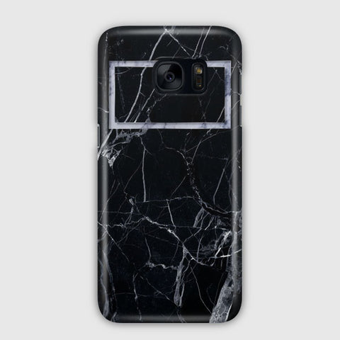 Black Marble Samsung Galaxy S7 Case