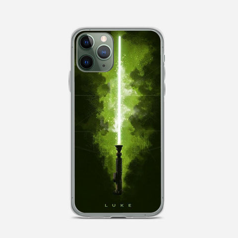 Star Wars Luke Skywalker Lightsaber iPhone 11 Pro Max Case