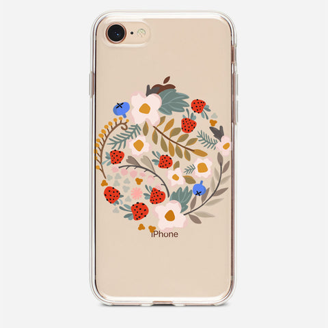 Wilderberries iPhone 8 Case
