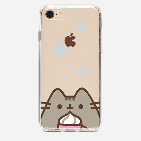 Winter Cat iPhone 8 Case
