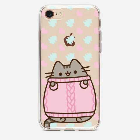 Winter Pusheen iPhone 8 Case