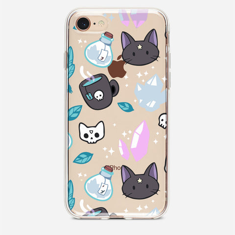 Witch Cat iPhone 8 Case