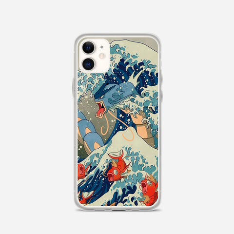 The Great Wave II Pokemon iPhone 11 Case
