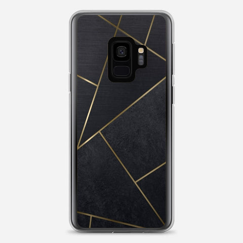 Black Tiles Samsung Galaxy S9 Case