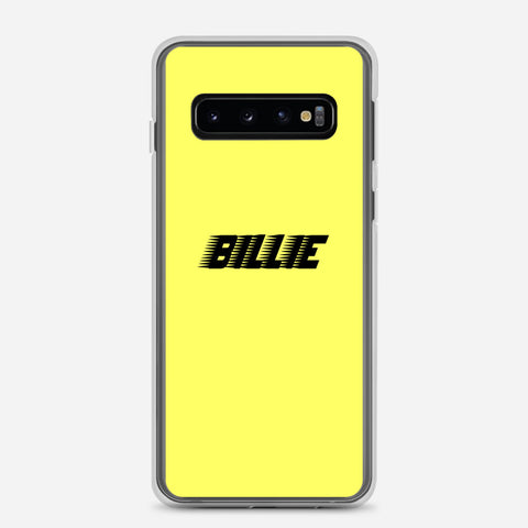Billie Eilish Racing Logo Samsung Galaxy S10 Case